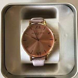 Rose gold Olivia Burton London watch